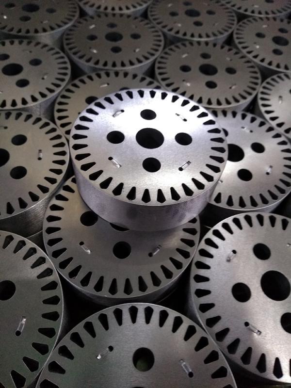 Lamina de rotor
