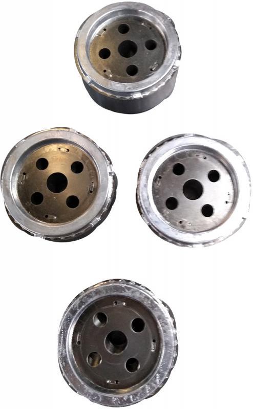 Serviço de injeção de alumínio